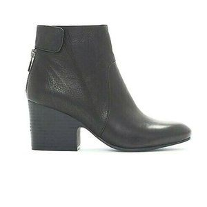 Eileen Fisher Harris Tumbled Leather Bootie NWOT